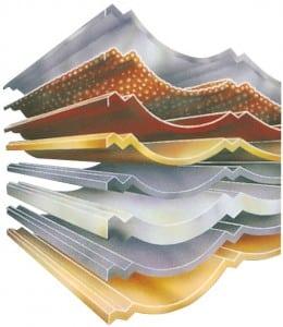 Metro Metal Roof tiles