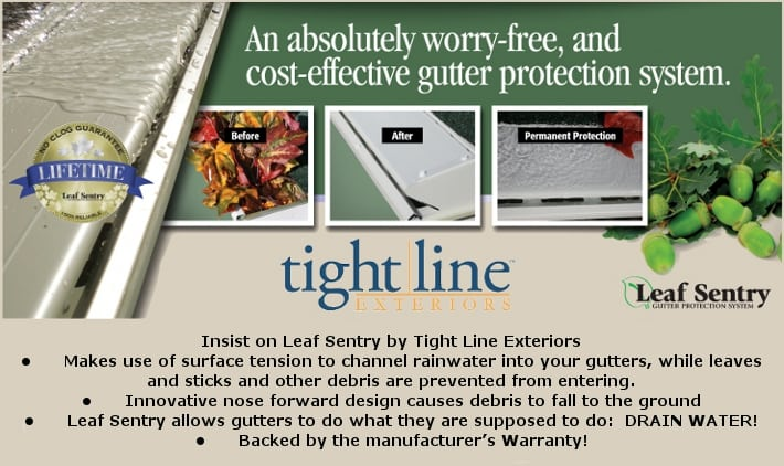 Lianro Adds Leaf Sentry Gutter Protection Systems To Its